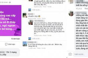 Đang xác minh tài khoản Facebook tung tin 2 mẹ con tử vong do sinh con thuận tự nhiên