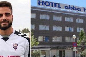 Kỳ lạ vụ tiền vệ người Tây Ban Nha rơi từ tầng 3 khách sạn xuống đất