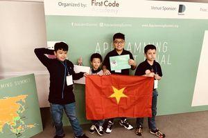 Học sinh tiểu học Việt Nam giành giải 'Ứng dụng sáng tạo nhất' cuộc thi lập trình di động AppJamming Summit 2018