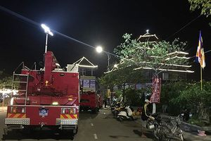 Đà Nẵng: Cháy trên núi Ngũ Hành Sơn ngay trước lễ hội Quán Thế Âm