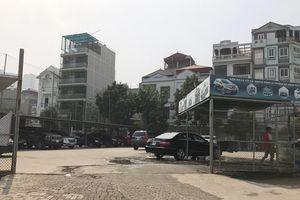 Đã xử lý các bãi trông giữ xe trái phép tại phường Mộ Lao