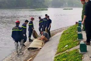 Hà Nội: Vớt được thi thể 2 nam sinh ở hồ Công viên Thống Nhất