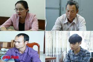 Khởi tố thêm 4 đối tượng vụ phá hơn 41.000 m² ha rừng ở Hương Khê