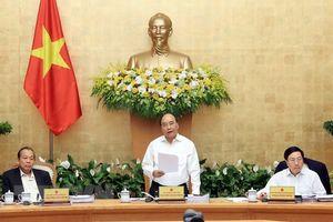 Thủ tướng: Phấn đấu đạt mức tăng trưởng kinh tế 6,7% trong năm nay