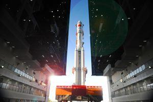 Trạm không gian Thiên Cung 1 trước khi rơi xuống Trái Đất