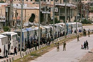 Syria đạt thỏa thuận sơ tán những tay súng cuối cùng khỏi Đông Ghouta