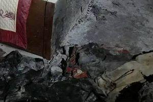 Quảng Ninh: Điều tra nguyên nhân vụ cháy nhà làm 4 người trong gia đình nhập viện