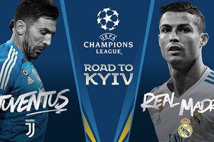 Lịch thi đấu Tứ kết lượt đi Champions League 2018