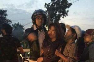 Cảm phục chàng trai liều mình nhảy xuống sông cứu cô gái tự tử ở Thanh Hóa