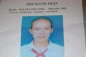 Nữ sinh 15 tuổi bắt xe từ Nam Định lên Hà Nội rồi mất tích cùng người đàn ông lạ