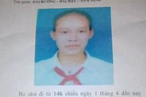 Nữ sinh lớp 9 mất tích nghi đi cùng người đàn ông lạ