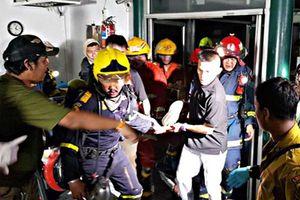 Công bố danh tính 13 người Việt bị thương trong vụ cháy chung cư tại Bangkok