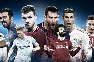 Lịch trực tiếp tứ kết lượt đi Champions League 2018 tuần này