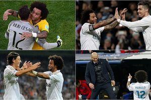Đội hình trong mơ của Marcelo: Zidane 'tiếp đạn' cho Ronaldo