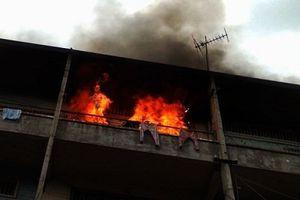 Quảng Ninh: Cháy nhà trong đêm, 4 người trong gia đình bị bỏng nặng