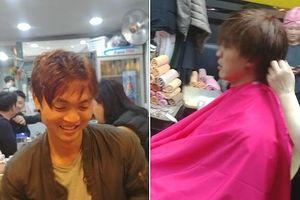 Tuấn Anh 'cắt tóc đổi vận', dành 6 tiếng mỗi ngày điều trị ở Hàn Quốc