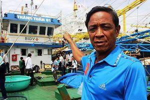 Doanh nghiệp và ngư dân chưa thống nhất mức đền bù 'tàu 67' nằm bờ