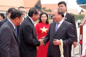 Thủ tướng bắt đầu tham dự Hội nghị của Ủy hội sông Mekong quốc tế