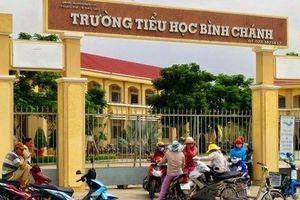 Vụ cô giáo quỳ xin lỗi: Cách chức Hiệu trưởng trường TH Bình Chánh
