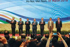 Chung tay phát triển bền vững dòng Mekong