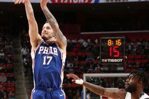 Detroit 108-115 Philadelphia: Miền Đông chốt sổ, Pistons bật bãi