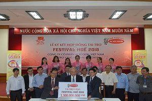 Acecook Việt Nam tài trợ 3,3 tỷ đồng cho Festival Huế 2018