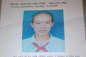 Nam Định: Đã tìm thấy nữ sinh lớp 9 đi cùng người đàn ông lạ mặt