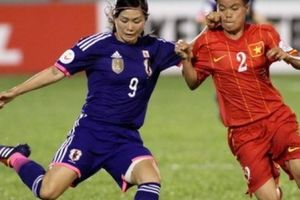 ĐT nữ Việt Nam thua đậm ĐK á quân thế giới Nhật Bản