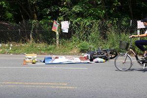 Tai nạn giao thông, người nước ngoài tử vong dưới bánh container