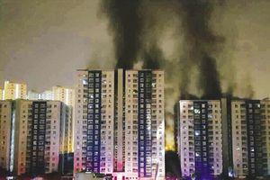 Vụ cháy chung cư Carina Plaza: Bắt đầu kiểm định chất lượng công trình