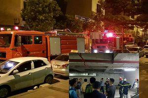 Rò rỉ dầu diesel khiến hàng nghìn cư dân chung cư Văn Phú Victoria hoảng loạn lo cháy