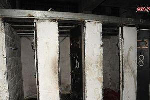 Nhà tù 'phát xít' trong tử địa thánh chiến Đông Ghouta, Syria
