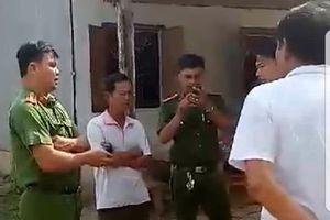 Bị tố dẫn người đến đánh dân, thiếu tá công an bị kỷ luật