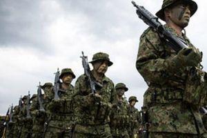 Nhật Bản huấn luyện đội quân tinh nhuệ để đối phó Trung Quốc