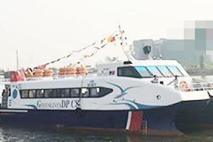 Tàu cao tốc Vũng Tàu - TPHCM gặp sự cố nước tràn khi cập bến, 42 hành khách thoát nạn