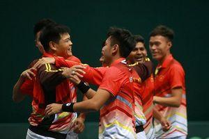Tuyển quần vợt Việt Nam thăng hạng tại Davis Cup