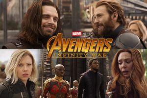 Clip mới của 'Avengers 3': Bucky gặp lại Captain, hội chị em phụ nữ 'hiếu chiến' không kém ai