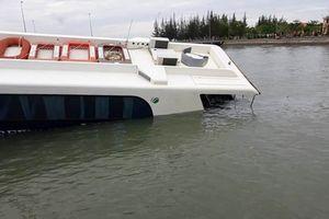 Nguyên nhân gây chìm tàu cao tốc trên biển Cần Giờ