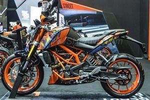Cận cảnh KTM 250 Duke phiên bản đặc biệt giá 131 triệu đồng