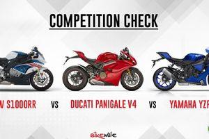 'So tài' bộ ba Ducati Panigale V4, BMW S 1000 RR và YZF-R1