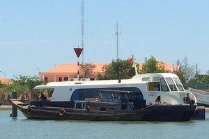 Tàu cao tốc TP. HCM - Vũng Tàu bị chìm do gãy chân vịt