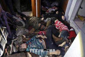 Tổ chức Trăng lưỡi liềm đỏ khẳng định không tìm thấy chất độc ở Douma (Syria)