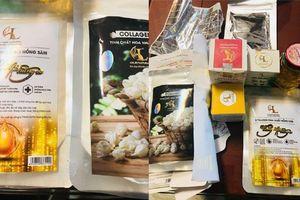 Thu giữ hàng nghìn mỹ phẩm nguyên liệu Trung Quốc đội lốt thương hiệu uy tín