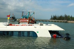 Hé lộ nguyên nhân tàu gặp nạn tại biển Cần Giờ