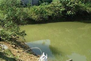 Thanh Hóa: 3 bé trai chết đuối thương tâm dưới ao cá