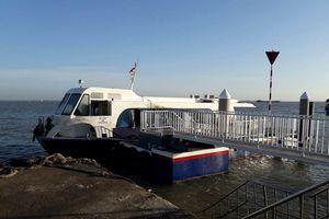 Nguyên nhân ban đầu tàu cao tốc gặp sự cố ở biển Cần Giờ
