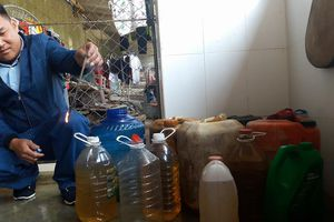 Vụ nước giếng bị nhiễm dầu: Đã báo cáo lãnh đạo công an tỉnh Hà Tĩnh