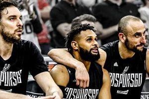 San Antonio Spurs chính thức có lần 21 liên tiếp dự Playoffs