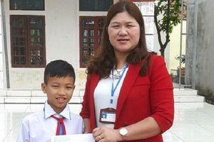 Học sinh lớp 5 trả lại 24 triệu đồng cho người bị mất