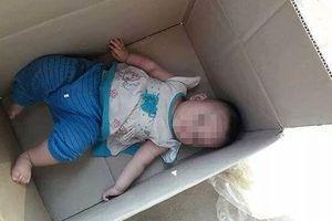 Thực hư thông tin cháu bé bị bỏ rơi trong thùng giấy ở Nghệ An
